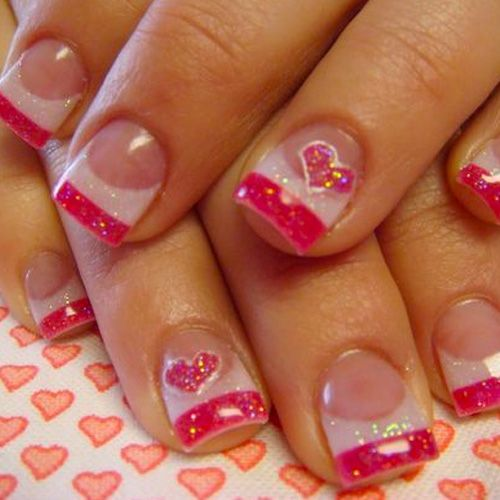 Best Valentines Day Nails For 2018 44 Heartwarming Nail Designs