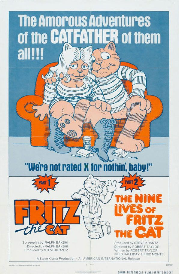 Watch The Nine Lives of Fritz the Cat Full-Movie Streaming
