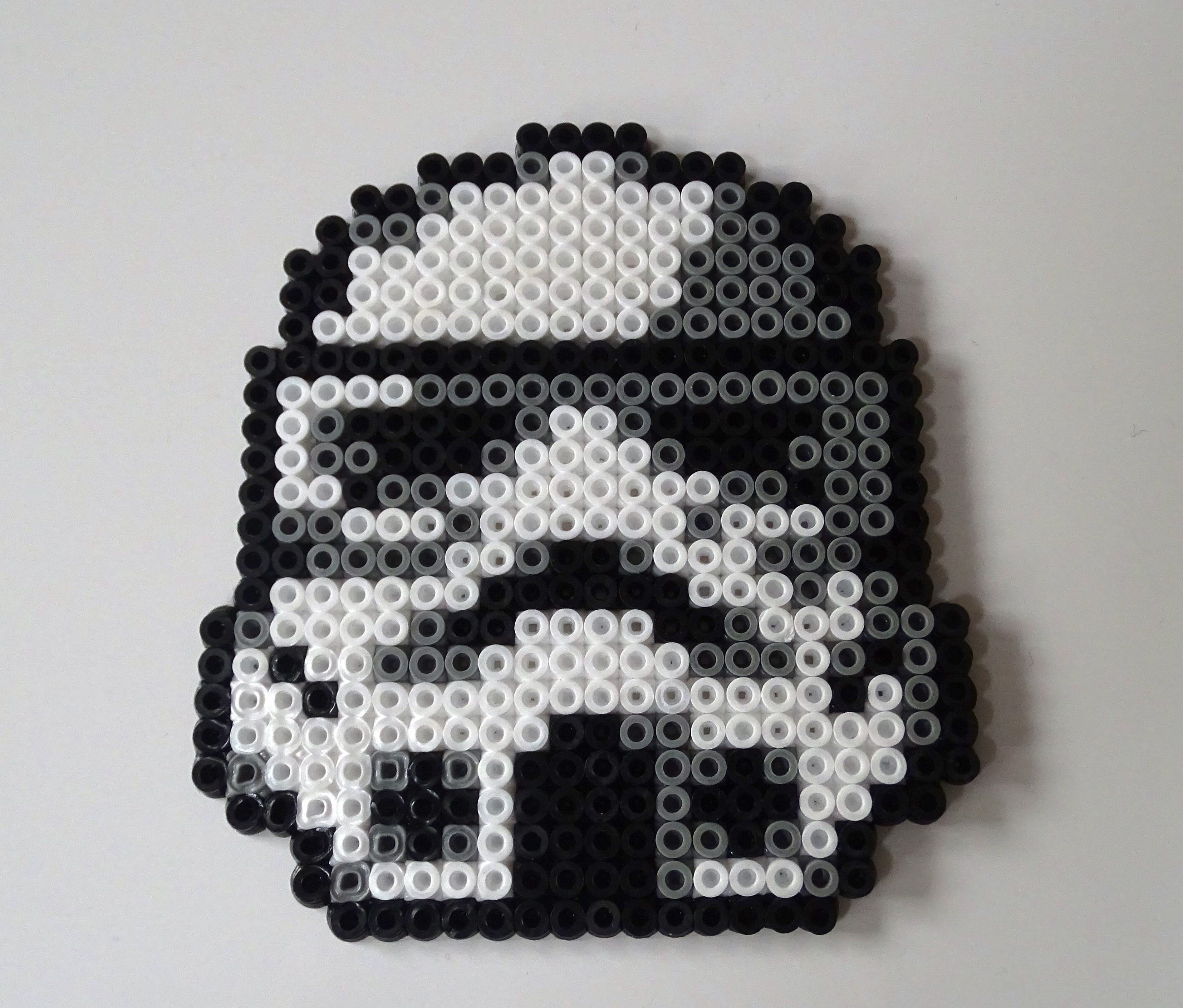 Darth Vader Clock Star Wars Hama Beads By Werner Herbener