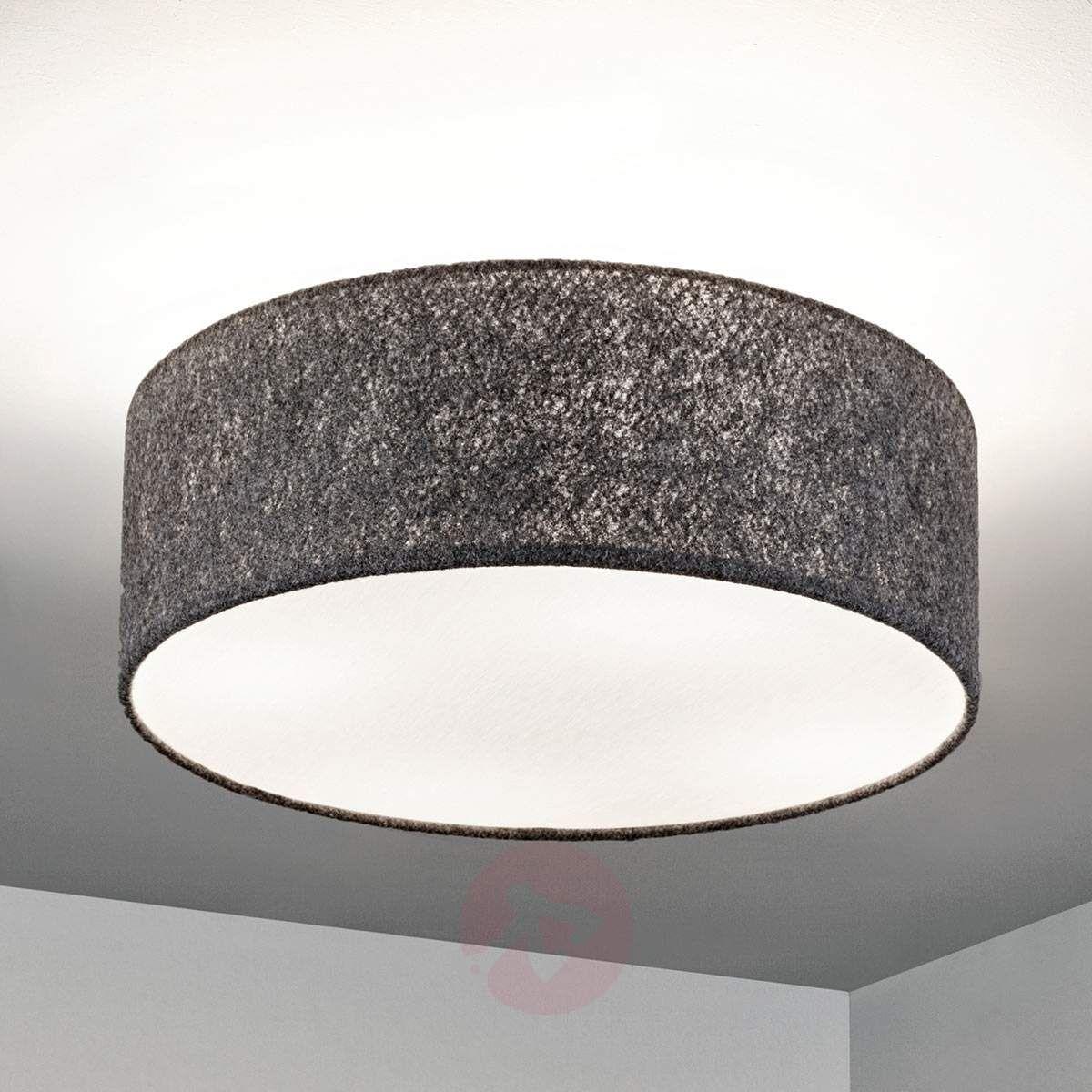 Lampa sufitowa Gala, 50cm, filcowy ciemnoszary | Lampa