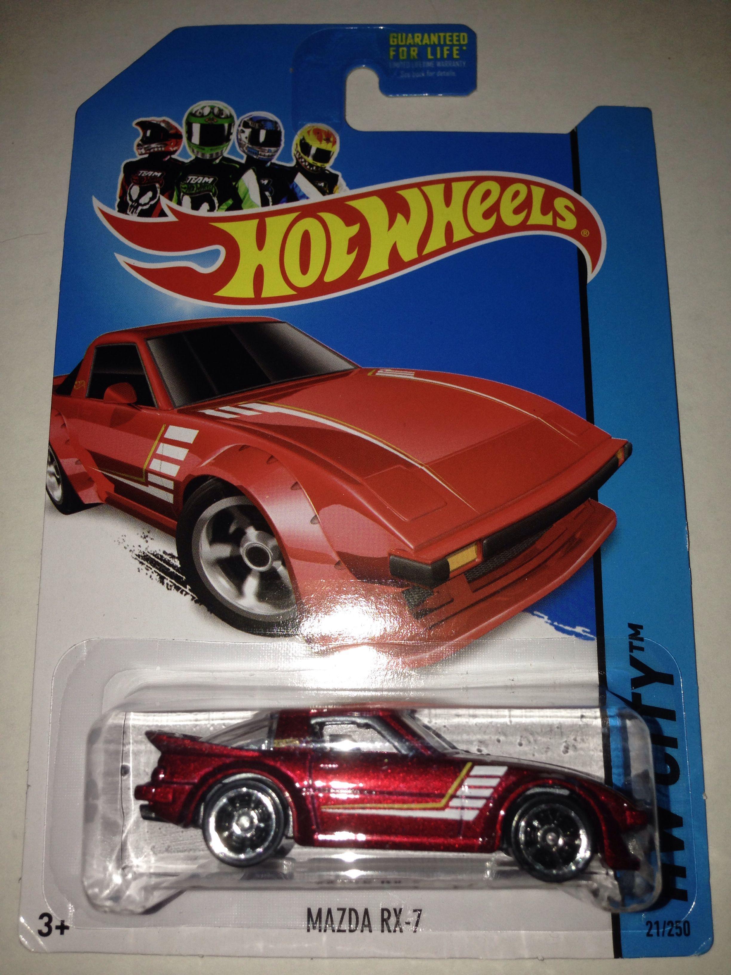 Hot Wheels 2014 HW City Mazda RX-7 21//250 Red Mattel