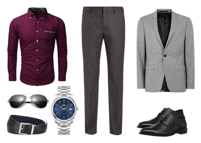 diseño moderno elegir original venta de descuento 14. Camisa Vino Pantalón gris oscuro   Outfits en 2019 ...