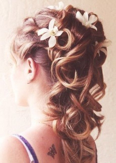 Coiffure mariee cheveux long 2017