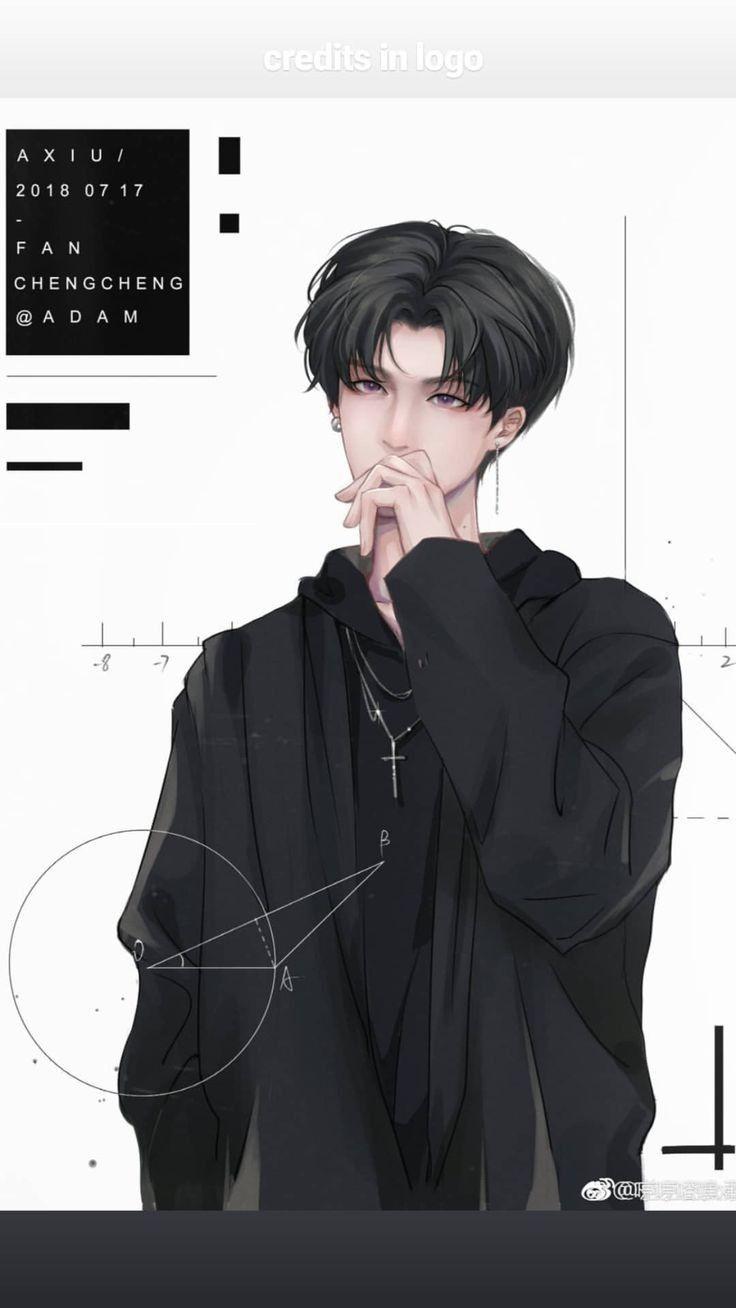 Pin Oleh Lanz Di Trai đẹp Art Ilustrasi Karakter Seni Manga Ilustrasi