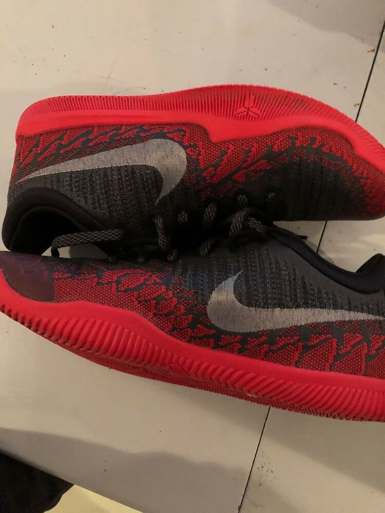 37d24a9a60ea Nike Mens Kobe Mamba Rage PRM Anthracite Black Red Size 9.5 (AJ7281-006)   fashion  clothing  shoes  accessories  mensshoes  athleticshoes (ebay link)