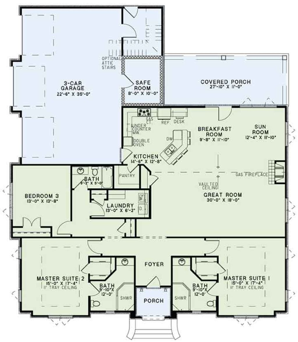 5 master bedroom house plans  European Floor Plan  Main Floor Plan Plan   architecture