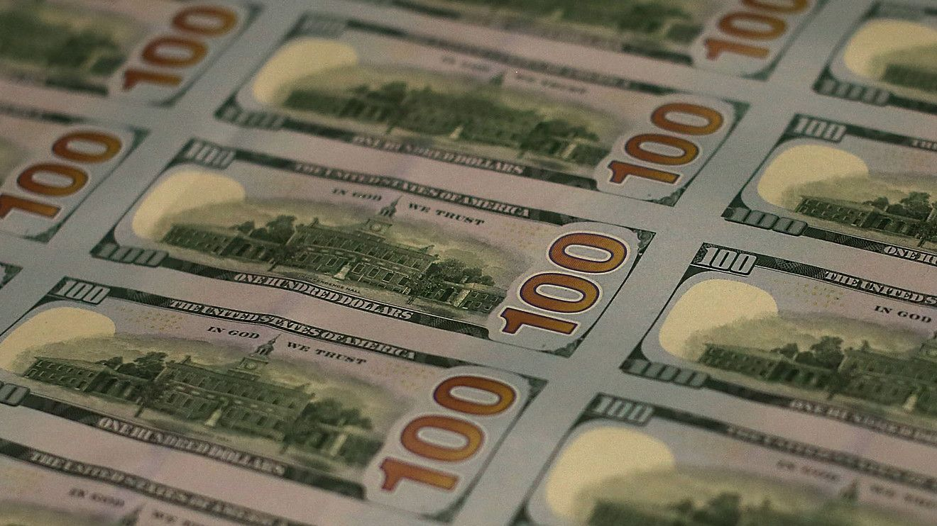 Dollar pops higher after august jobs data show pickup in