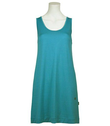 Skhoop - Merino Mid Dress Aqua