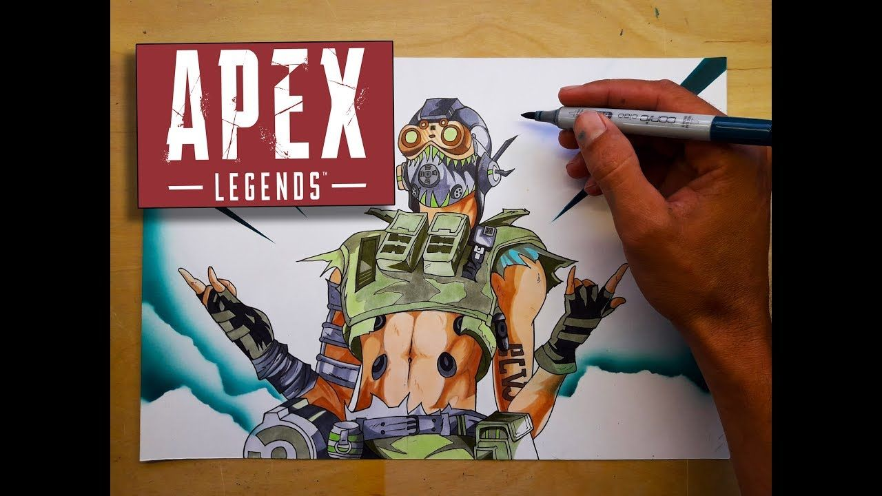 Drawing Octane Amazing Apex Legends Drawing Games And Sports