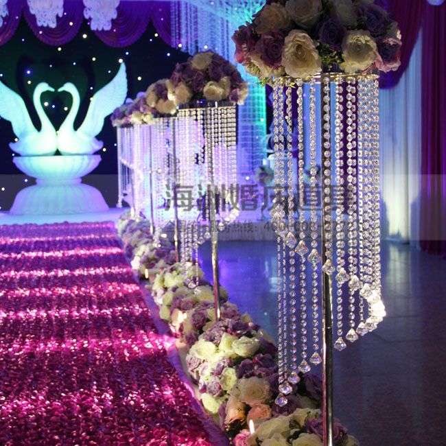 8pcslot 2018 wedding props crystal hanging beads wedding frame 8pcslot 2018 wedding props crystal hanging beads wedding frame wedding decoration tall 125cm junglespirit Images