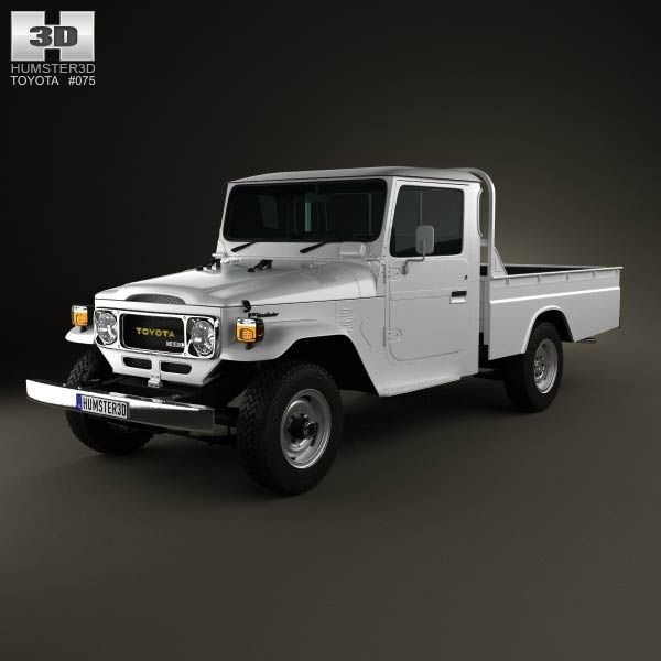 Land Rover Range Rover L405 2014 3d Model From Humster3d: Toyota Land Cruiser (J40) Pickup 1979 3d Model From