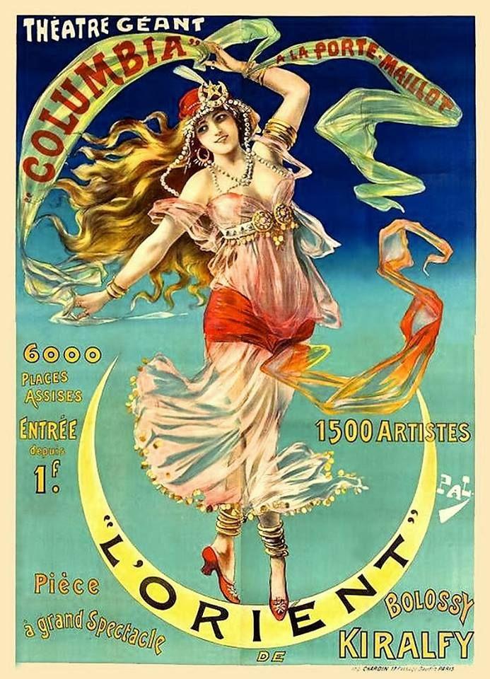 L'Orient Columbia a la Porte-Maillot Jean de Paleologue ca 1899