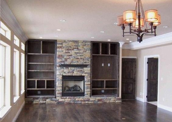 Bookcase Built In Bookshelves Around Fireplace  Fireplace - Fireplace with bookshelves