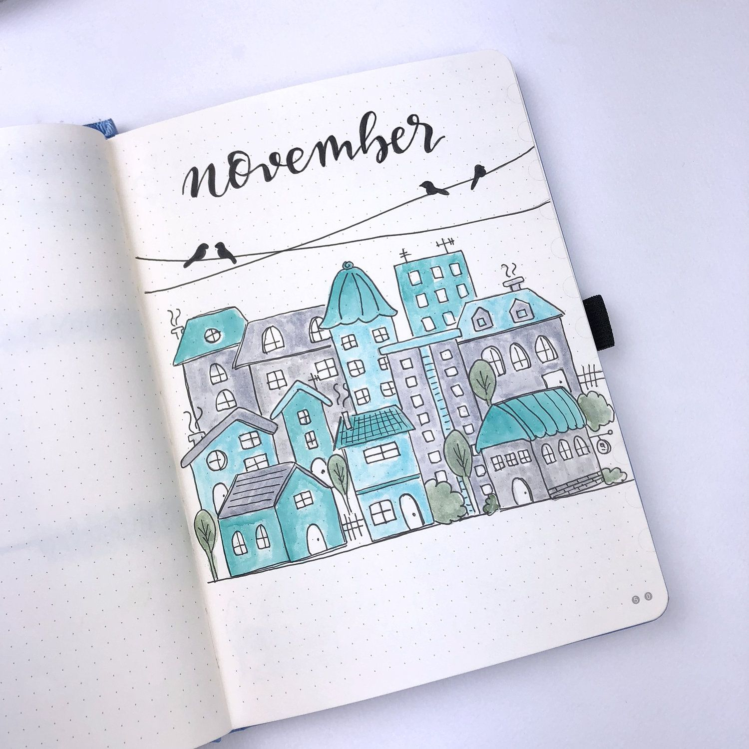 Plan With Me: My November Setup in my Bullet Journal + Video #novemberbulletjournalcover