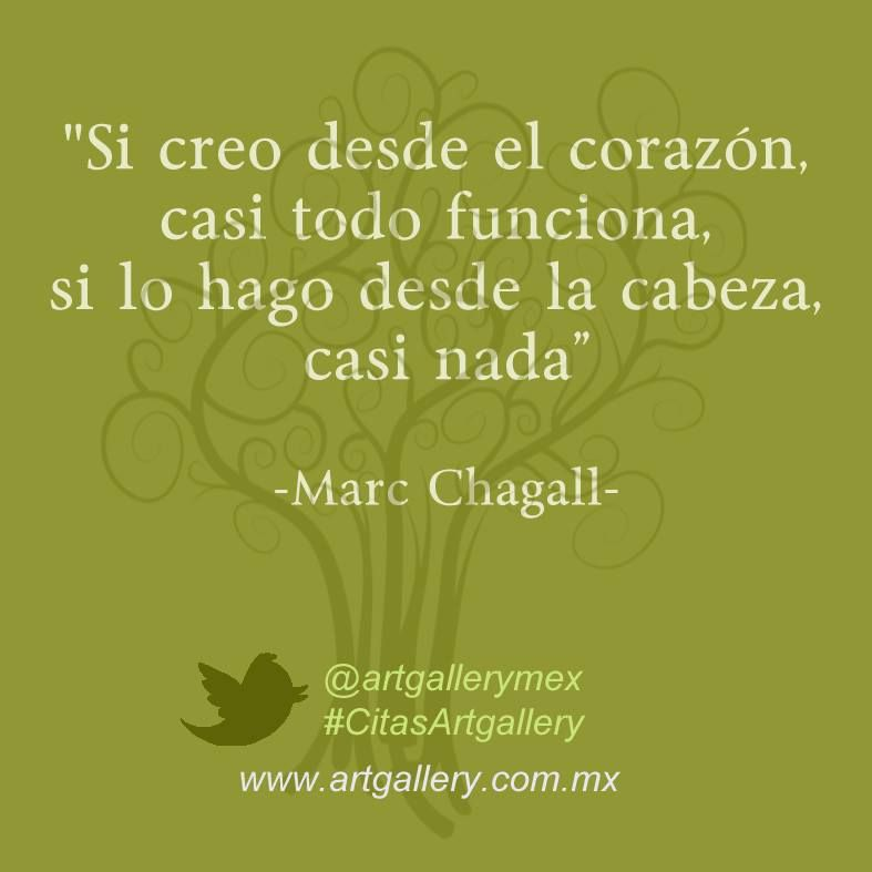 Quote Of The Week Marc Chagall More Quotes And Artwork On