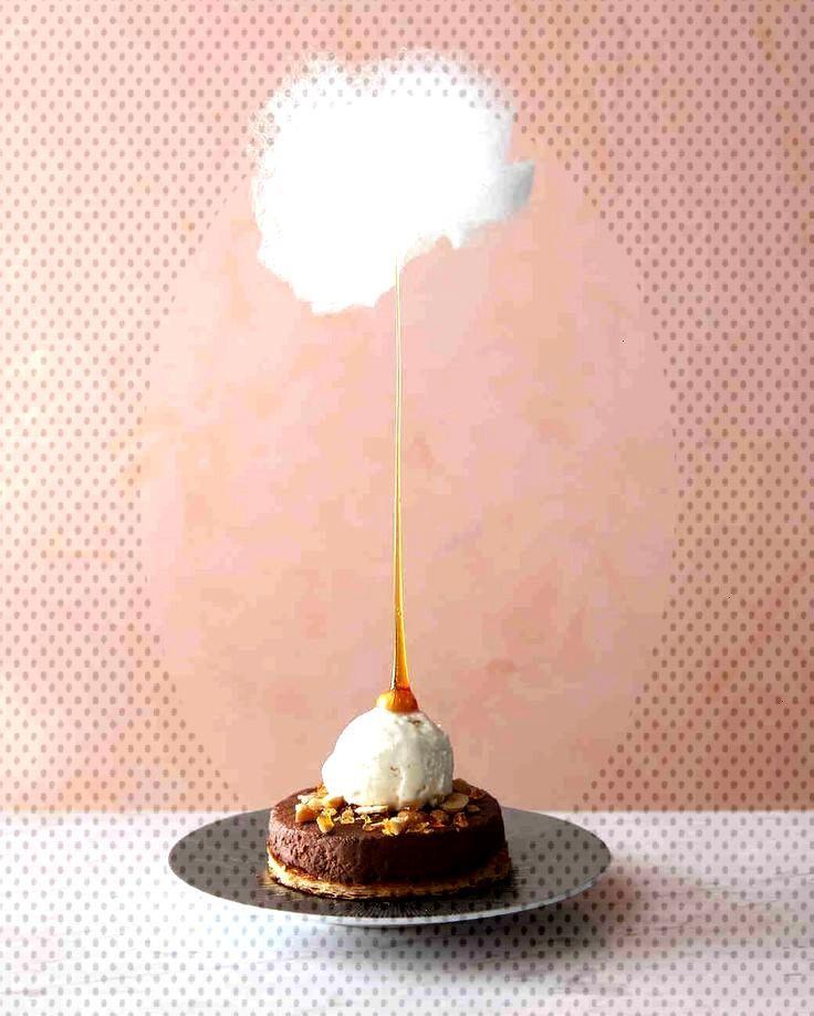 hazelnut cloud dessert