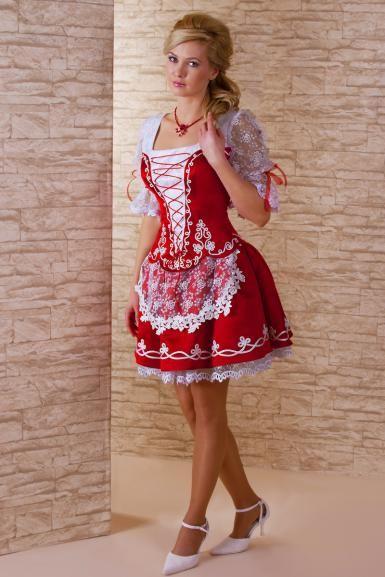 Modern de magyaros menyecske ruha 3155d5fd5c
