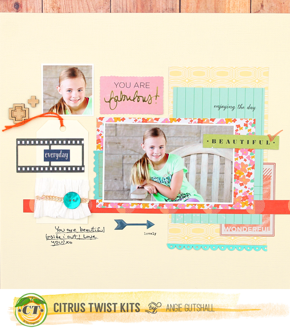 This month over at Citrus Twist Kits  you will find some beautiful kits, full of rich colors and wonderfully designed embellishments!  My fa...