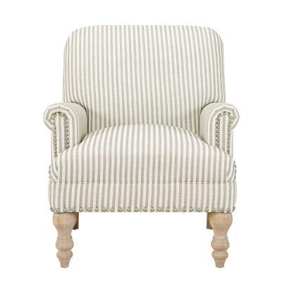 Best Dorel Living Joy Beige Upholstered Accent Chair Beige 400 x 300