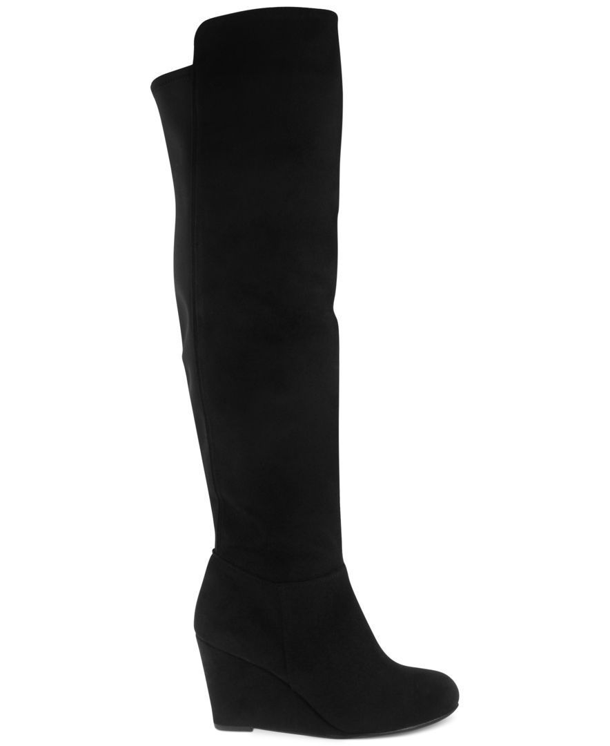Chinese Laundry Unbelievable Wedge Boots Shoes Macy S Wedge