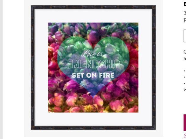 Motivational / inspiratonal art quote, landscape photography, self-esteem quote, digital downloadable image, flower meadow photo background by DreamsUniqueArt on Etsy