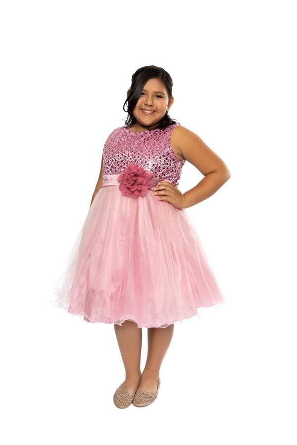 Plus Size Sequin Girl Party Dress | Girl\'s Plus Sizes Shop ...