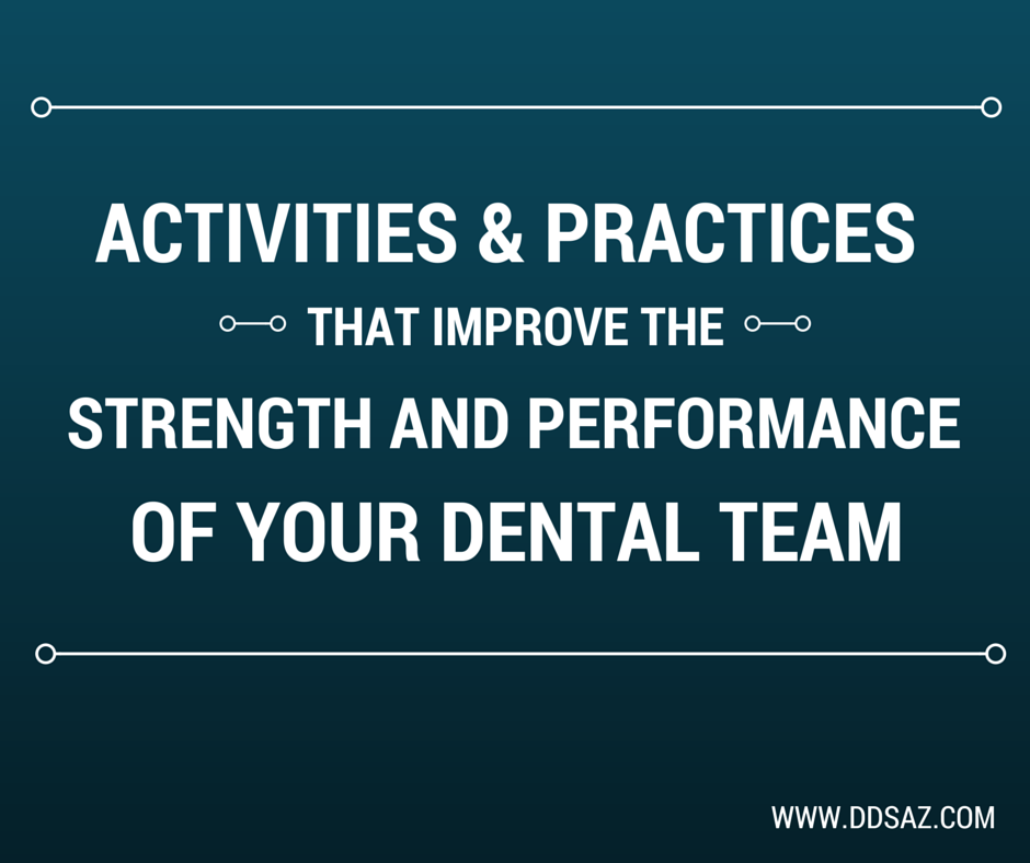 Building your team's performance and strengths is vital to how well your dental team works together, here are some tips: https://dependabledentalstaffingaz.wordpress.com/2015/02/19/activities-and-practices-that-improve-the-strength-and-performance-of-your-dental-team/ #dental #team #building #activities