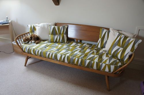 Vintage Ercol 1960 70s 355s Day Bed Studio Couch Ercol Furniture