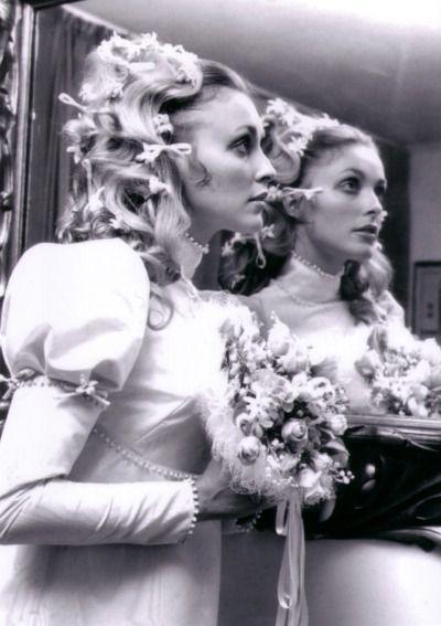 Sharon Tate before her wedding to Roman Polanski, 1968.