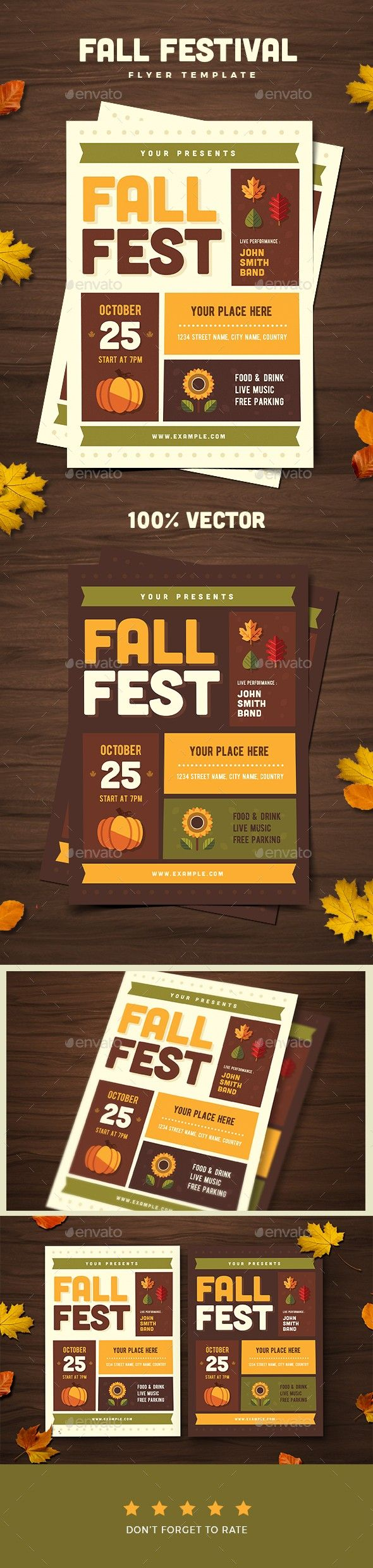 autumn check out fall fall festival festival flyer gathering