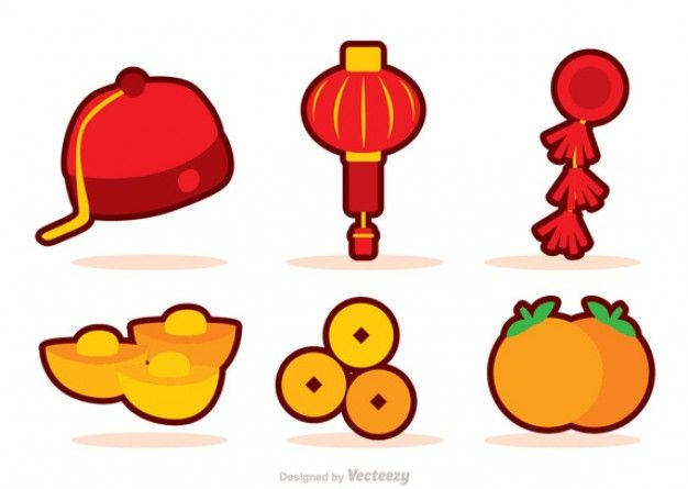 image result for new cartoon vector - Chinese New Year Emoji