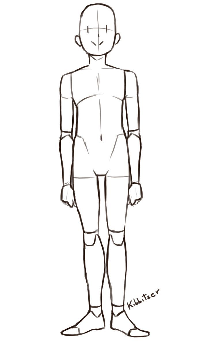 Afbeeldingsresultaat voor body proportions drawing poses | drawing ...