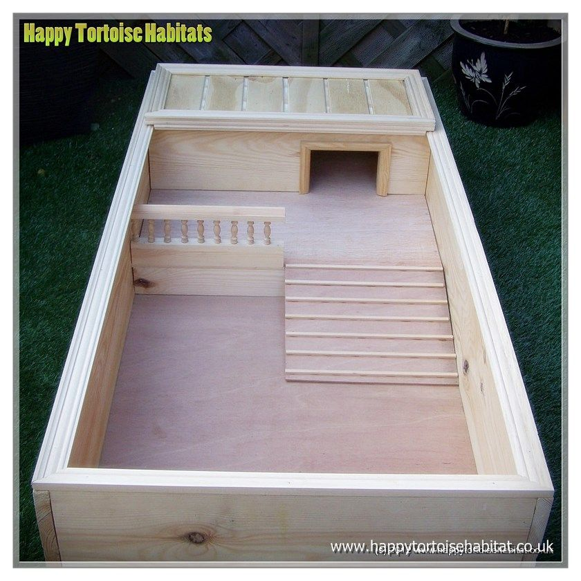 "MODEL 334 48""x24""x8"" Tortoise habitat, Tortoise table"