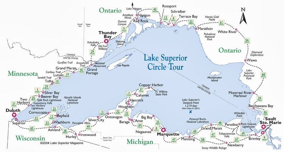 Ohio Thoughts~: Lake Superior Circle Tour, Canada | Places ...