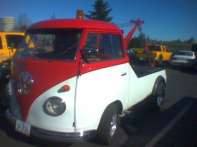 VW Tow Truck (With images) | Tow truck, Show trucks, Volkswagen vans