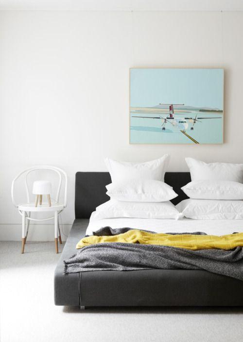 Maia Modern Bedroom Set: Photographer Toby Scott Via Simply Grove