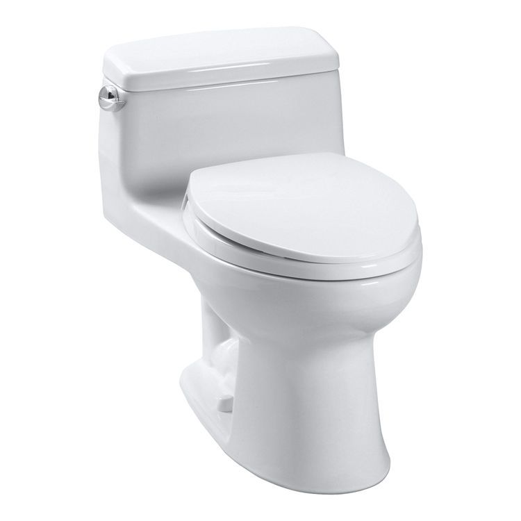 Toto Ms863113 11 Colonial White Supreme One Piece Elongated Toilet Toto Toilet Toilet Toilet Cleaning