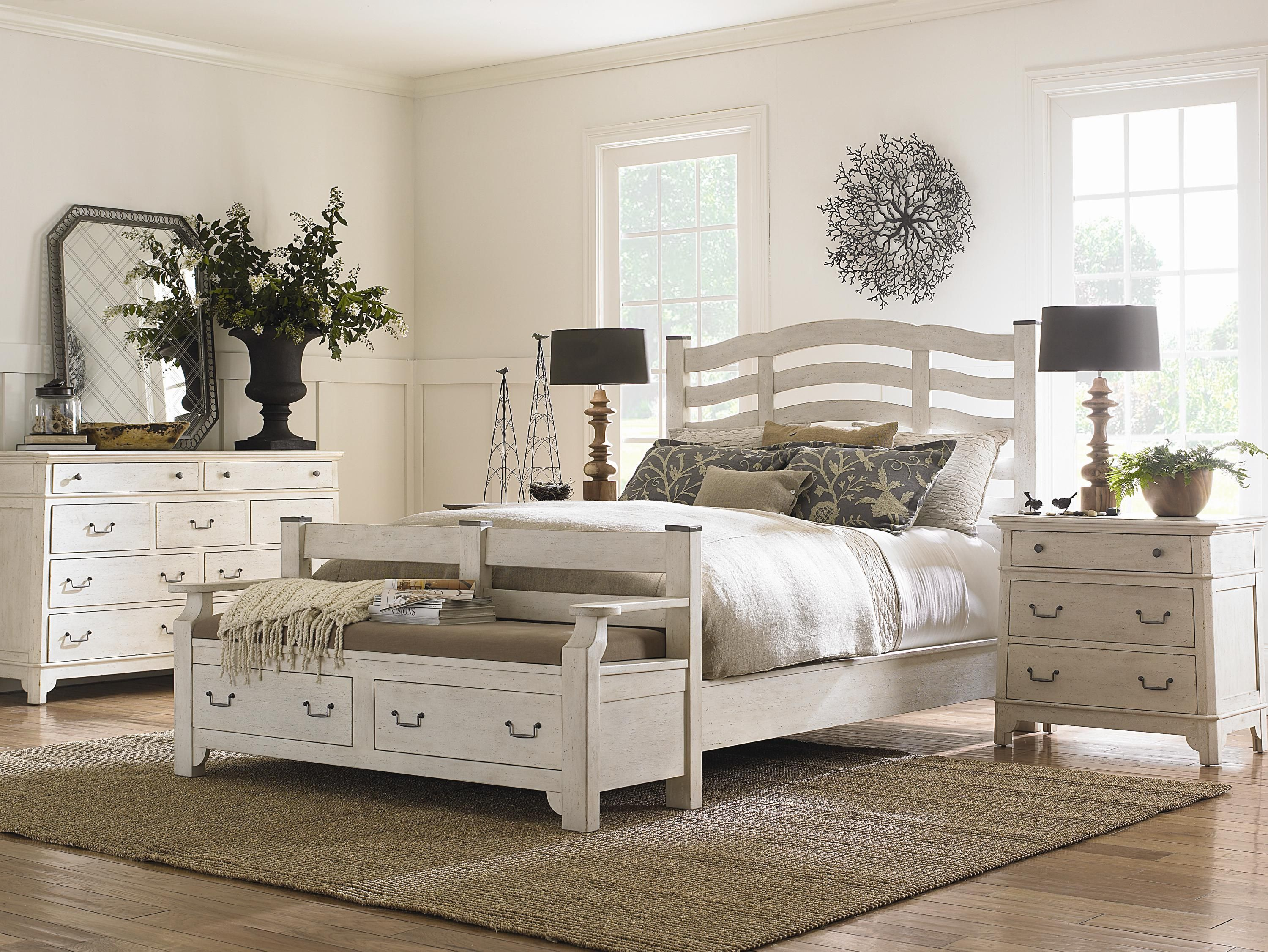 Outside In 855 Weathered White by Schnadig Reeds Furniture
