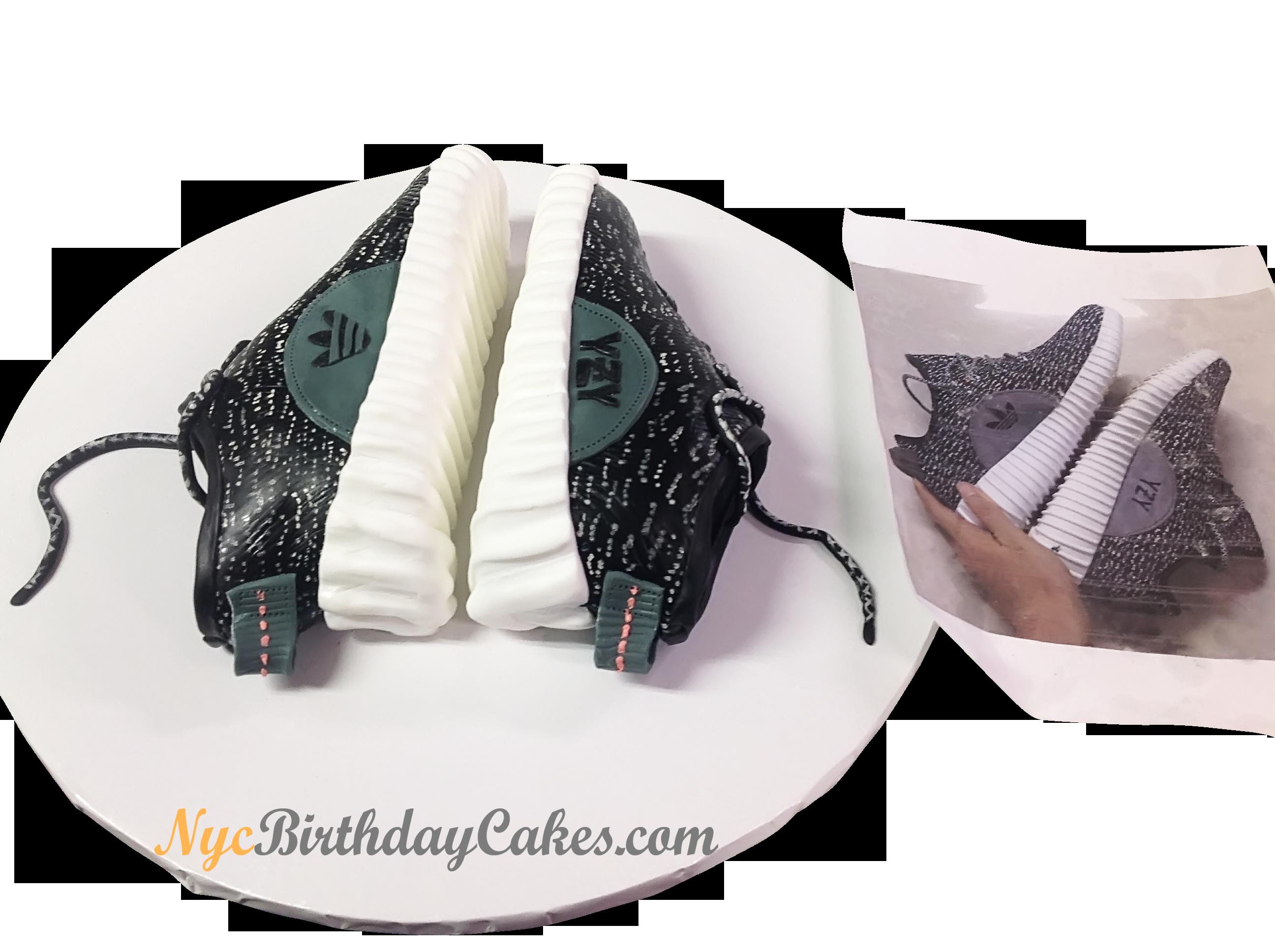 yeezy sneaker themed custom cake nyc nycbirthdaycakes birthday