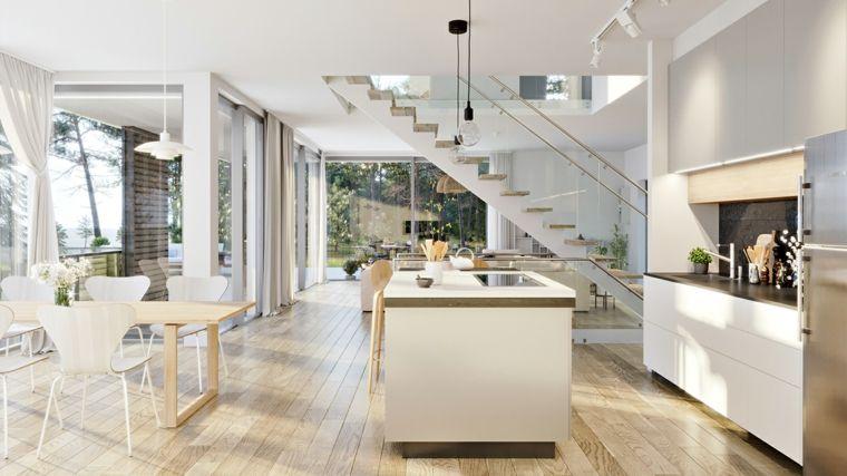 cocina con diseño minimalista | Decoración | Pinterest | Diseño ...