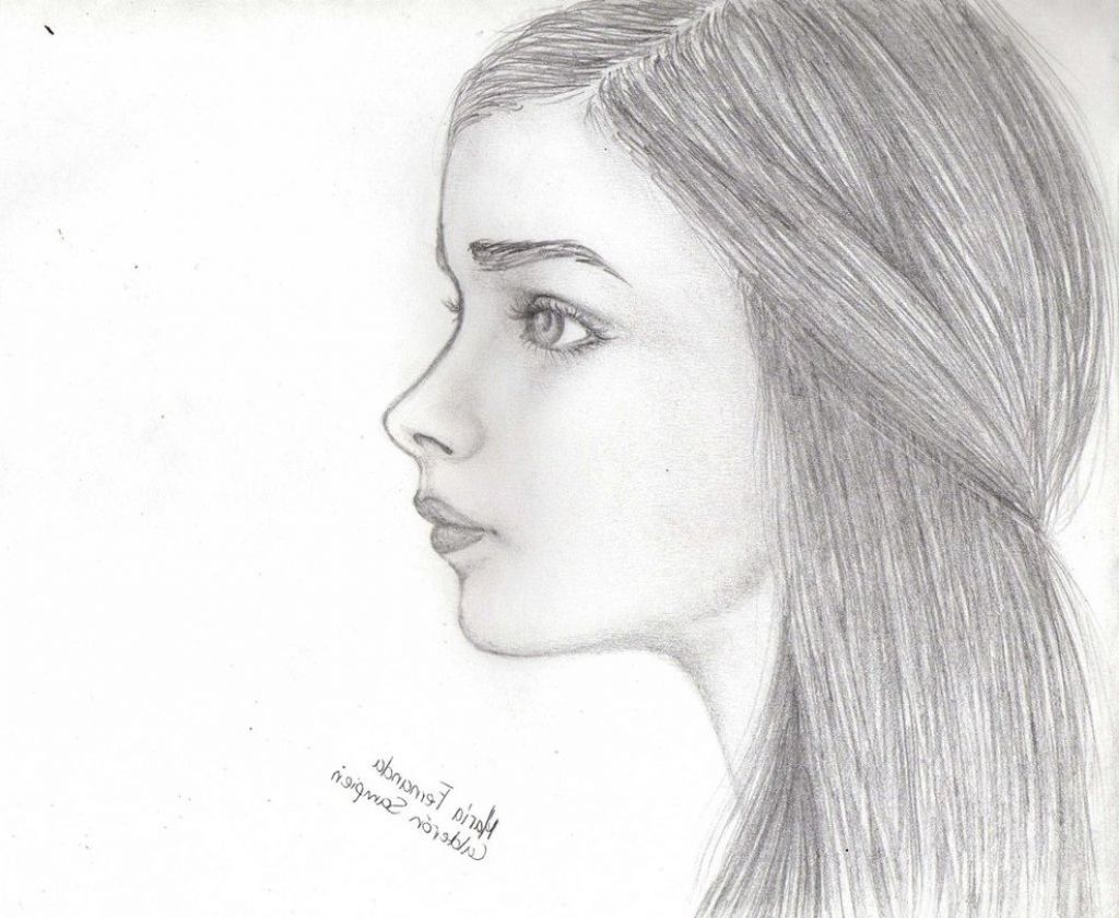 Side Face Drawings | drawing stuff | Pinterest | Face ...