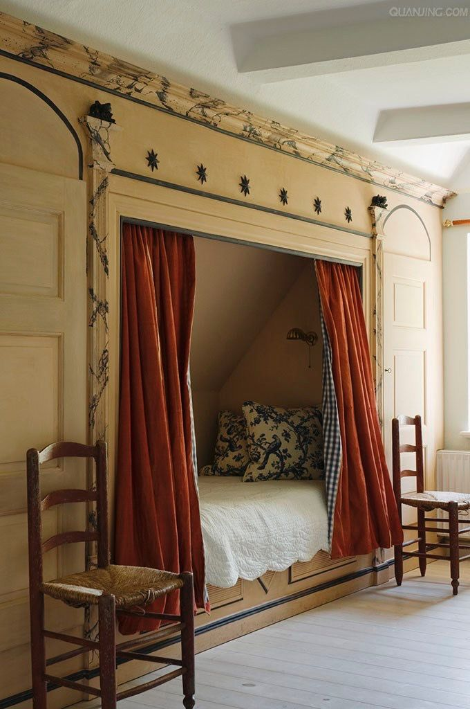 Pin By Susan Leitch On Bedrooms In 2019 Alcove Bed