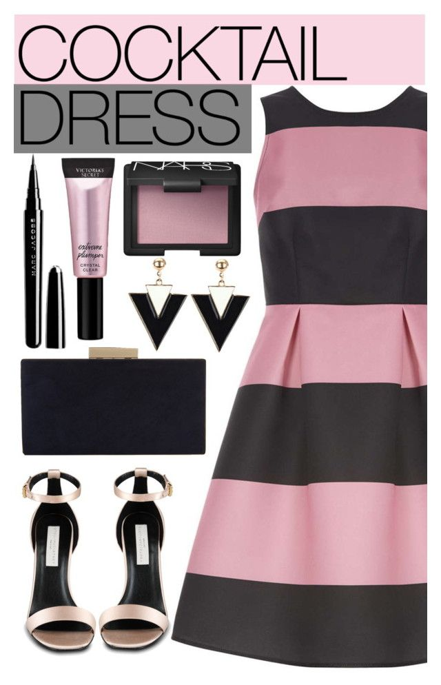 """Cocktail Dress"" by sebi86 ❤ liked on Polyvore featuring Luxe, STELLA McCARTNEY, Monsoon, NARS Cosmetics, Beauty Rush, Marc Jacobs and cocktaildress"