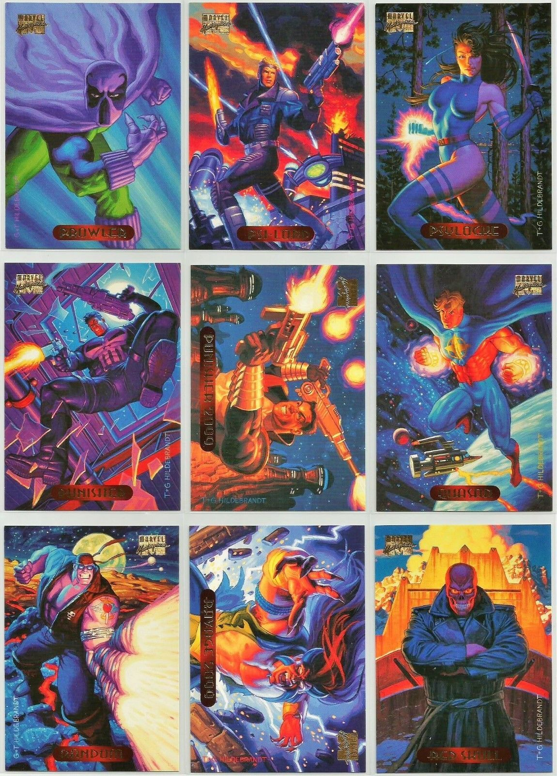 71e56facd75 1994 Marvel Masterpieces