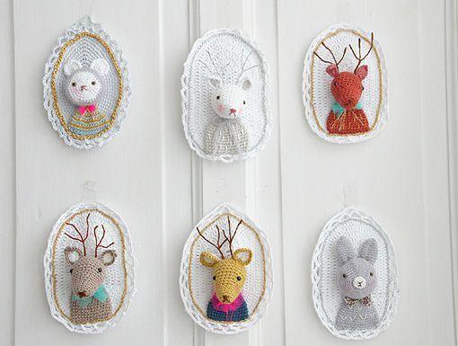 Djur på vägg