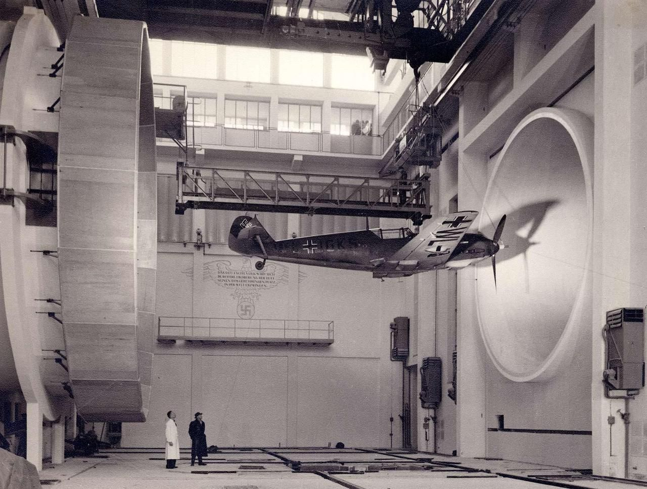 Wind tunnel at the