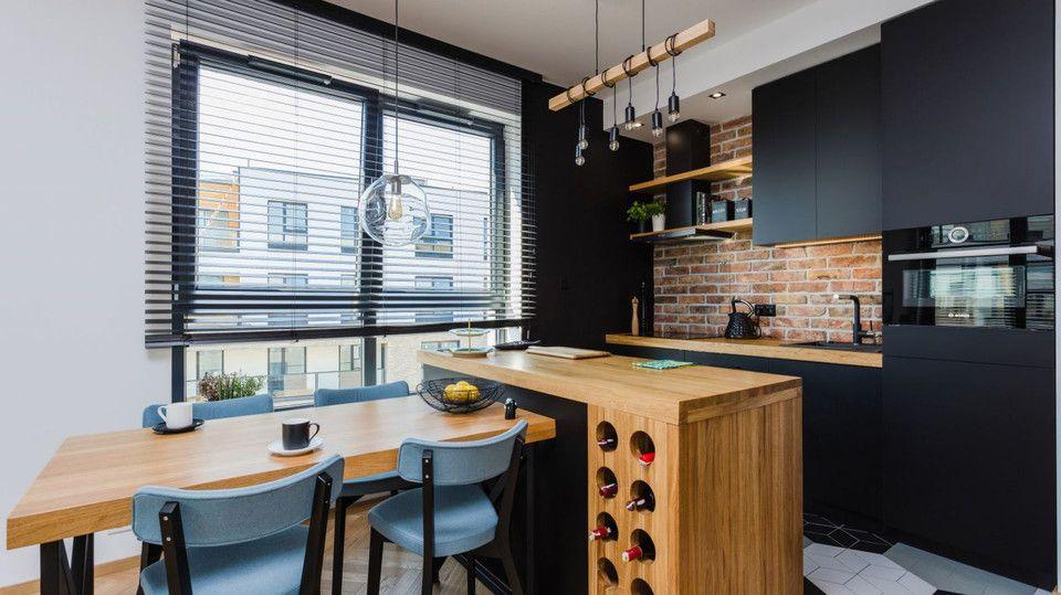 Swietnie Urzadzone 57 Metrowe Mieszkanie W Bloku Najtrudniej Bylo Zaaranzowac Kuchnie Zobaczcie Kitchen Interior Interior Design Kitchen Kitchen Dinning Room
