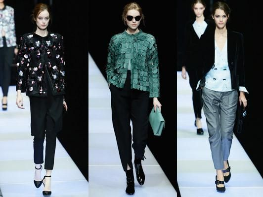 .@armani nods to the past for future perfect collection http://tgr.ph/1M1AW0P
