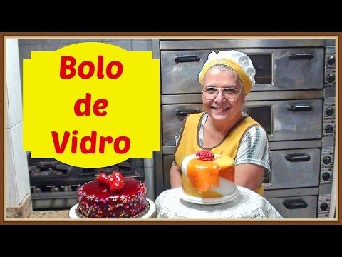 COMO FAZER BOLO DE VIDRO - YouTube