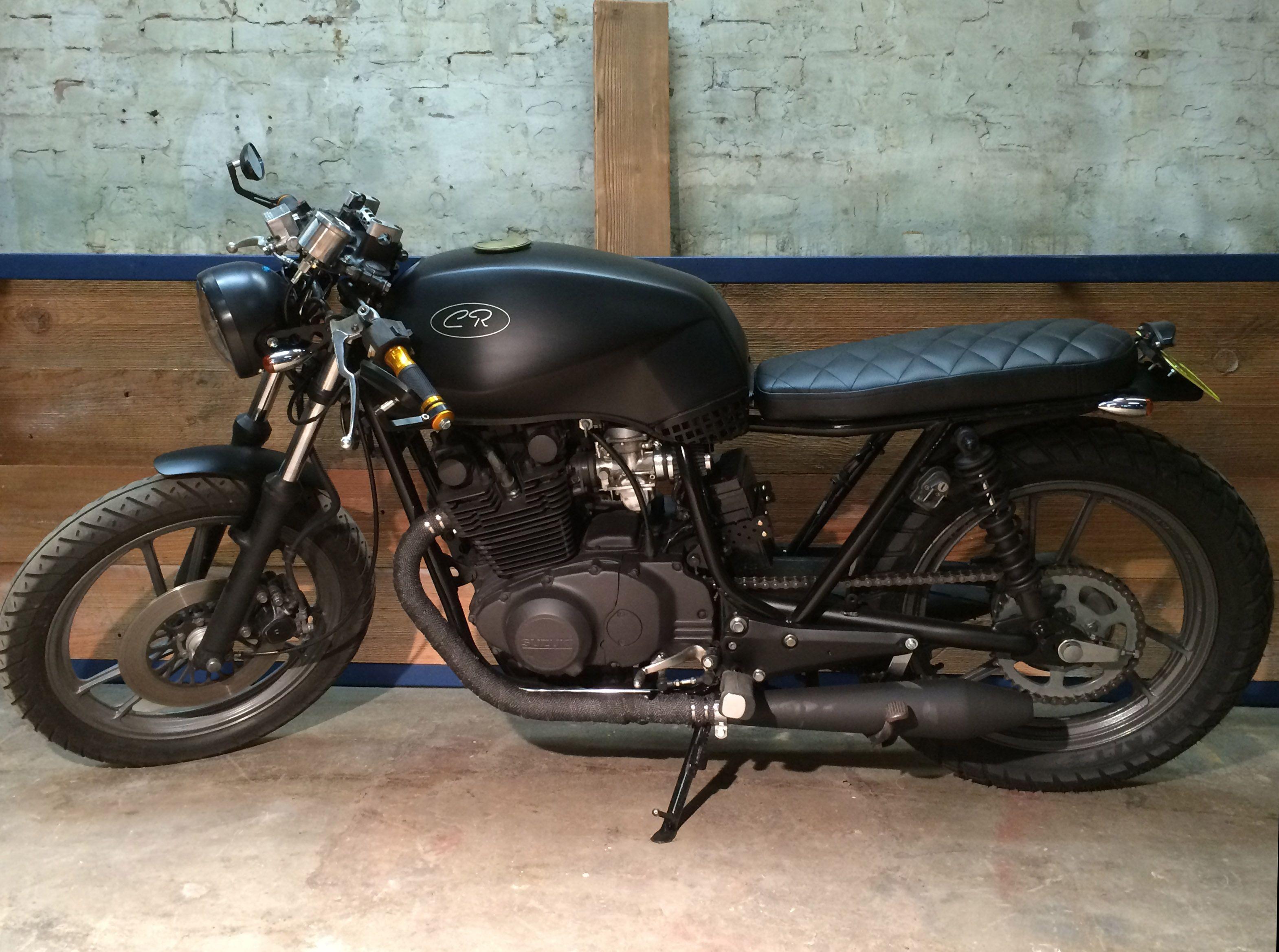 Suzuki Gs450 Custom Suzuki Cafe Racer Motorcycle